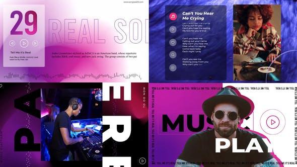 Virtual music visualizer
