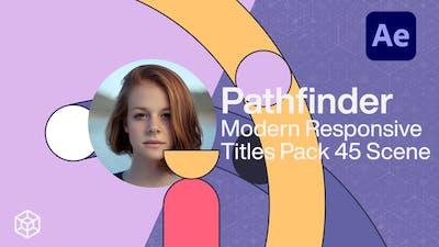 Pathfinder - Modern Responsive Titles Pack