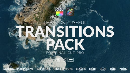 The Most Useful Transitions Pack For FCPX