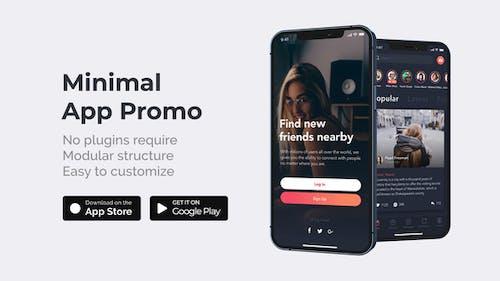 Clean Minimal App Promo