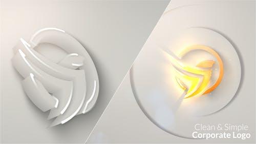 Clean & Simple Corporate Logo Reveal