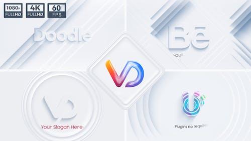 Neumorphism Logo Animations Set
