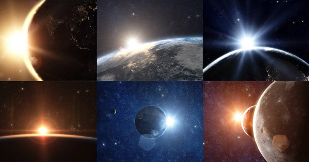 Download Planet Earth - Sunrise Series by MotionApe