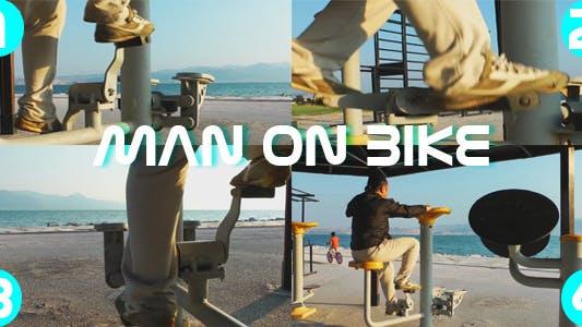Thumbnail for Man On Bike