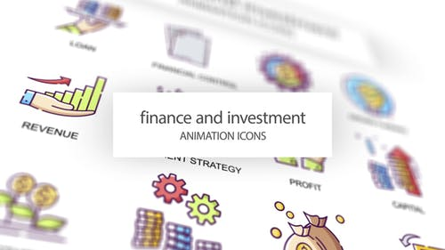 Finance & Investment - Animation Icons