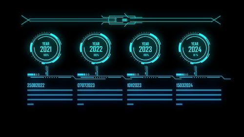 Timeline Hud Screen 4K