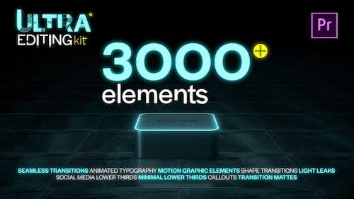 Ultra Editing Kit   Premiere Pro