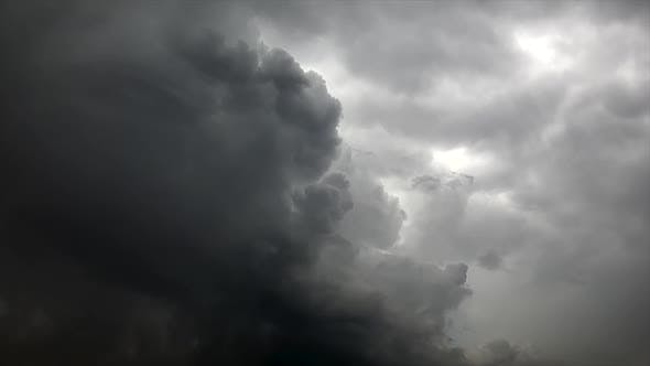 Storm Clouds Disappearing