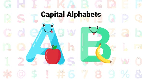 Cute Alphabets & Numbers