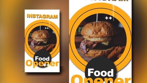 Instagram Food Opener