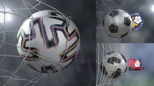 Soccer Goal - Logo Pack