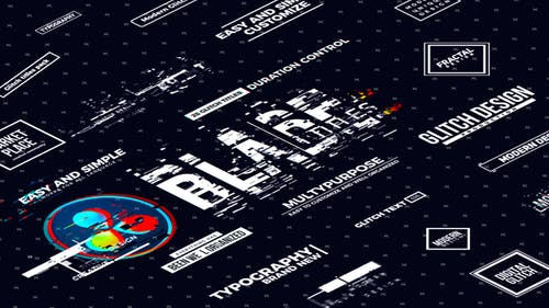 Blade Glitch Titles | DaVinci Resolve