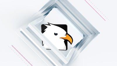 Clean Square Logo