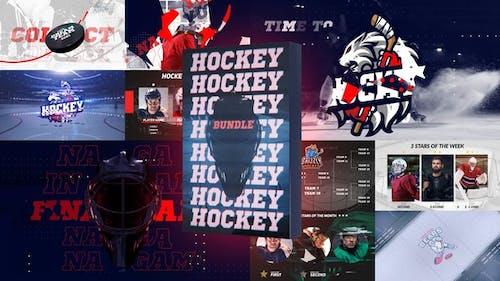 Paquete de hockey sobre hielo