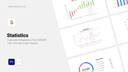 Statistics - Corporate CSV Data Driven Infographics l MOGRT