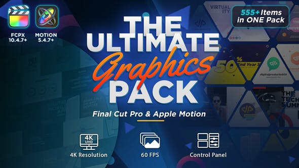 El paquete de Gráficos definitivo - Final Cut Pro X y Apple Motion