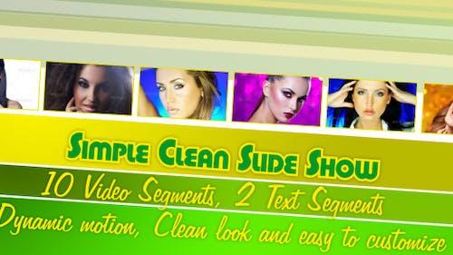 Simple Clean Slide Show