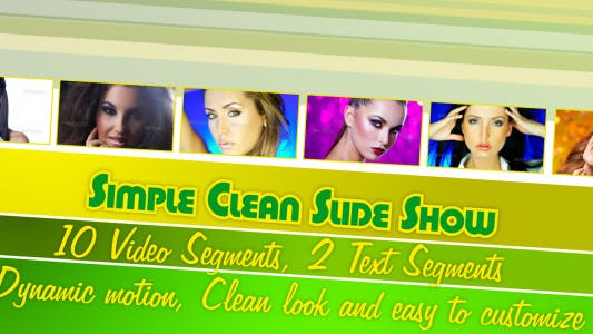 Thumbnail for Simple Clean Slide Show