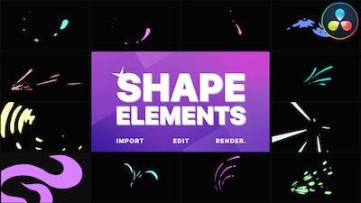 Shape Elements Pack | DaVinci Resolve