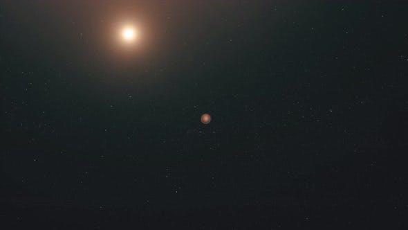 Thumbnail for Flight of the Shuttle To Mars
