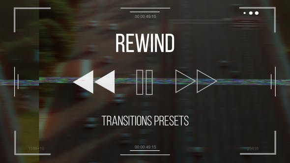 Rewind Transitions presets