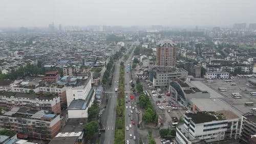 Townscape, Sichuan China