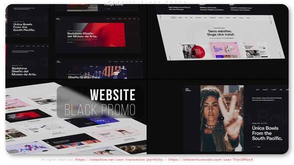 Sitio web Negro Promo