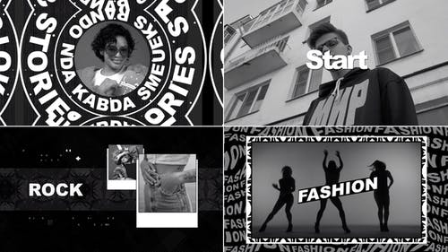 Stomp Typography Short