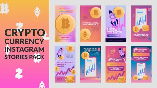 Cryptocurrency Stories Pack