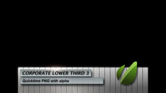 Thumbnail for Corporate Lower Third 3