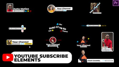 YouTube Subscribe Elements