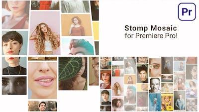 Mosaic Stomp Multi Photo Logo