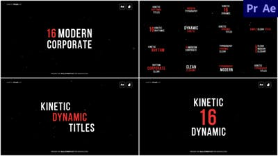 Kinetic Titles