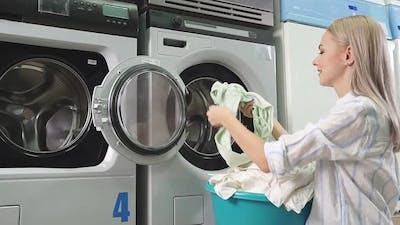 Laundry Service at the Public Laundry