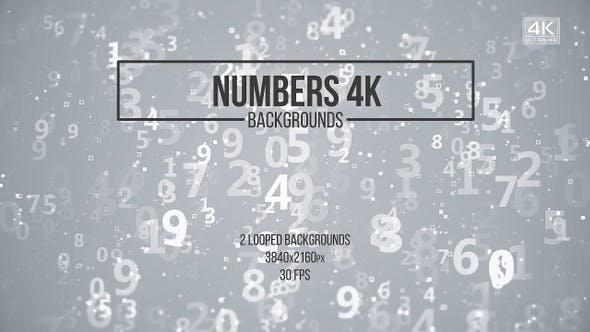 Numbers Backgrounds