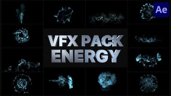 Elementos de energía VFX | After Effects