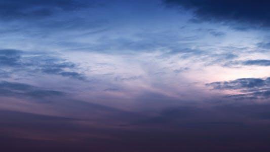 Thumbnail for Time Lapse Dramatic Sky 4K