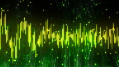 Musical Audio Waveform