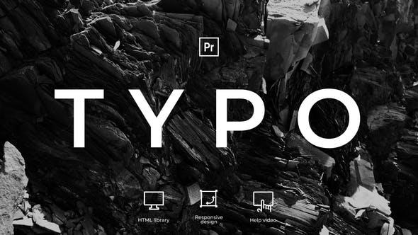 Typography   MOGRT