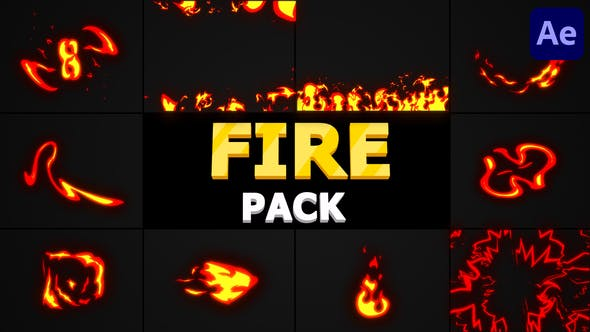 Fire Pack | After Effects