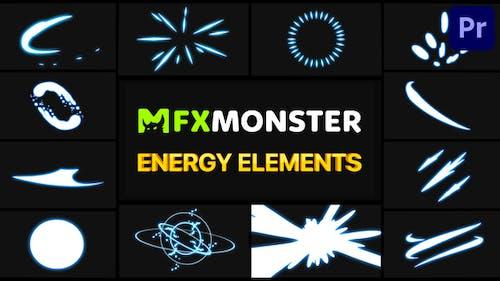Energy Elements   Premiere Pro MOGRT