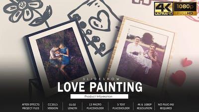 Love Story Slideshow - Painting