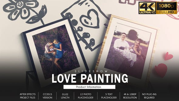 Love Story Slideshow - Painting