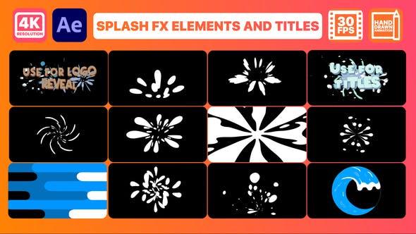 Splash FX Pack   Premiere Pro MOGRT