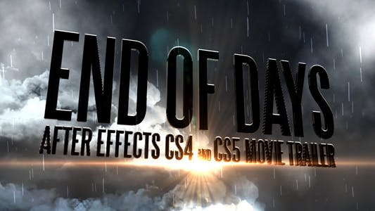 Thumbnail for End Of Days - CS4&CS5 Trailer