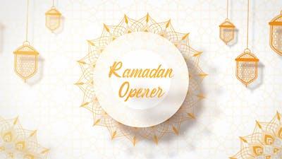 Ramadan Opener