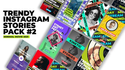 Instagram Stories Trendy V2