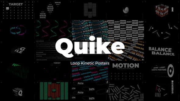 Quike - Loop Kinetic Posters
