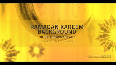 Ramadan Kareem 4K Background