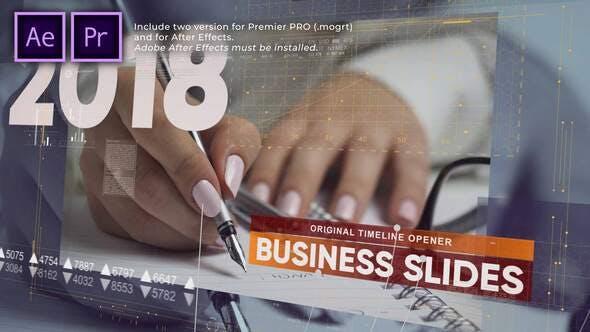 Business Timeline Slides